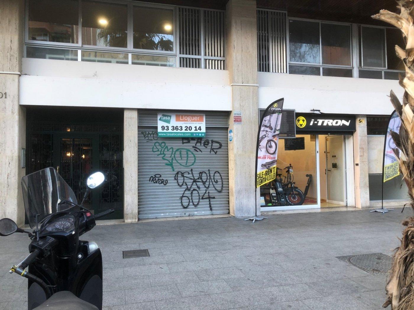 local-comercial en barcelona · la-nova-esquerra-de-l´eixample 900€