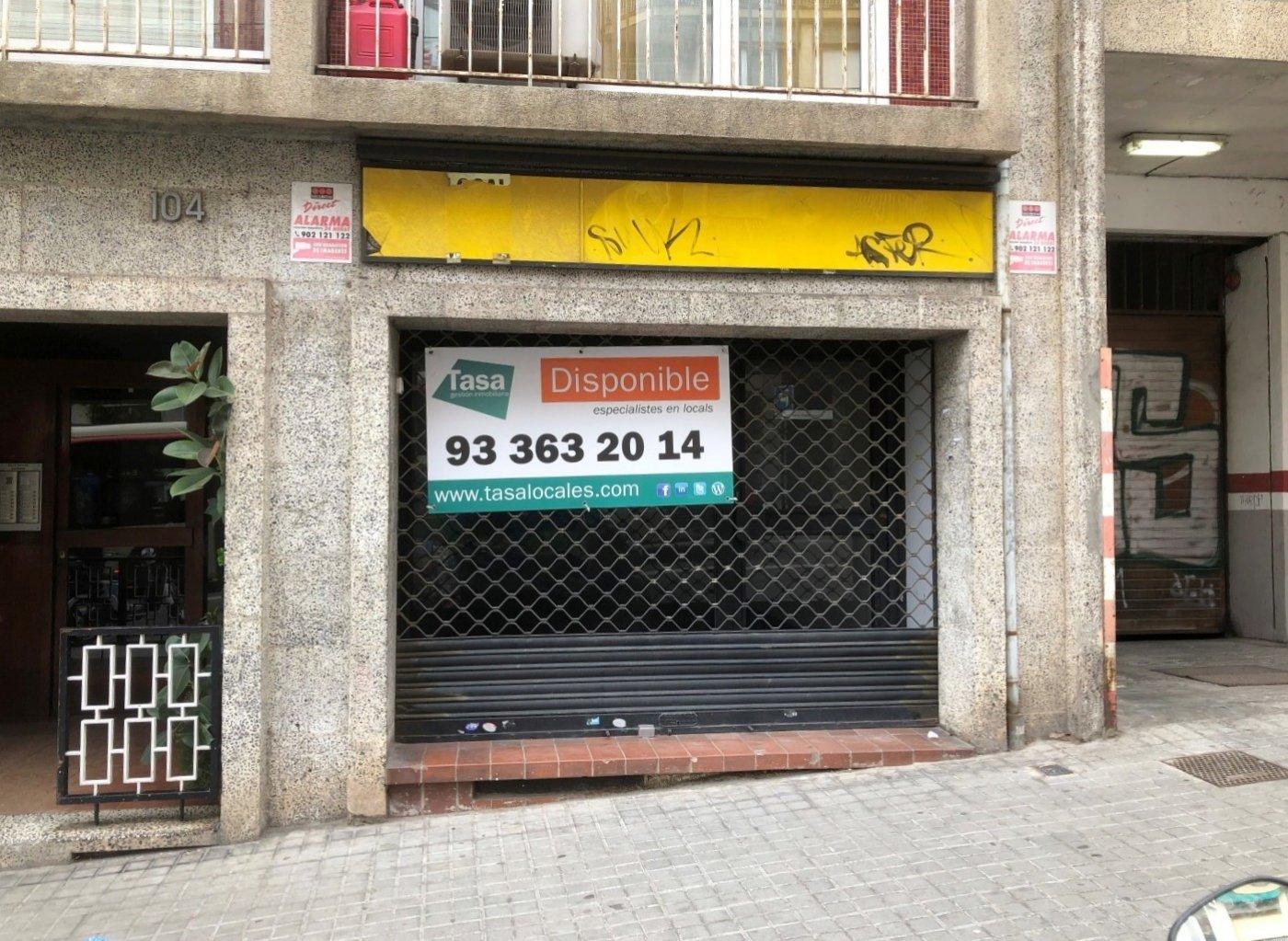 local-comercial en barcelona · el-baix-guinardo 1300€