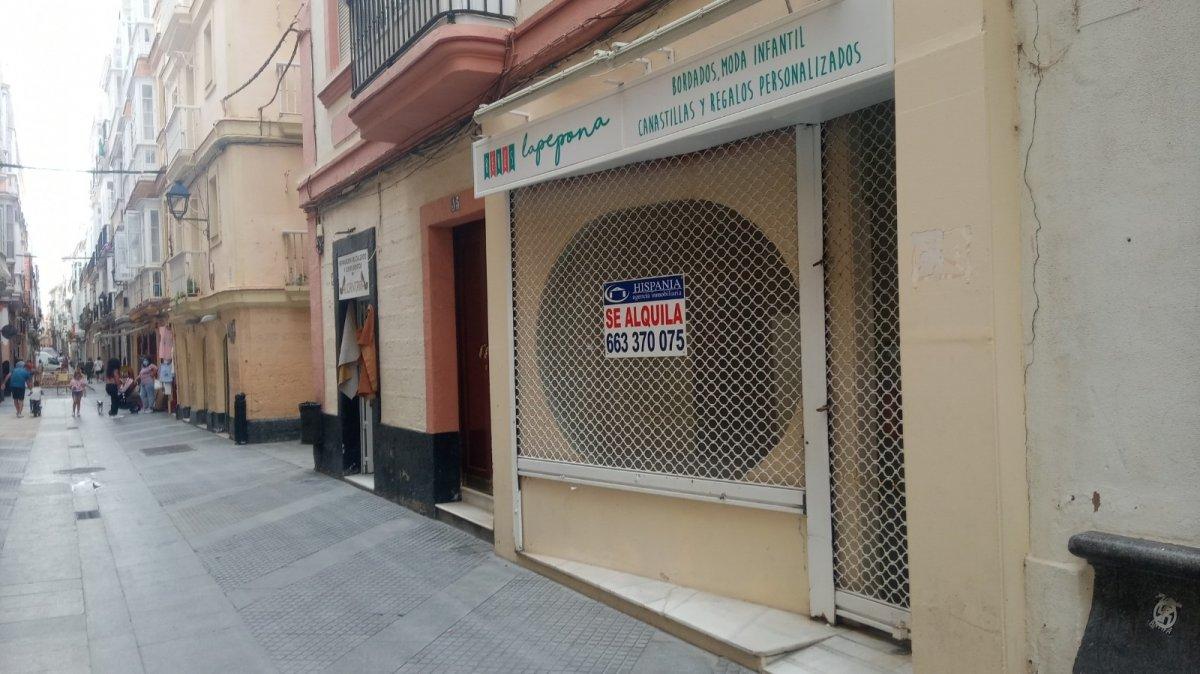 local-comercial en cadiz · centro 600€