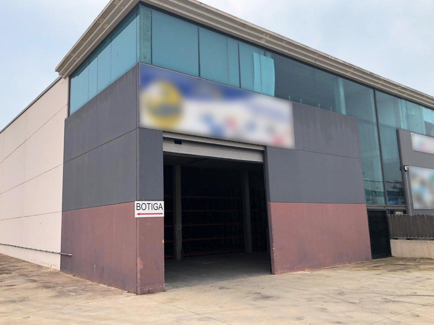 Alquiler Nave industrial en L' Aldea