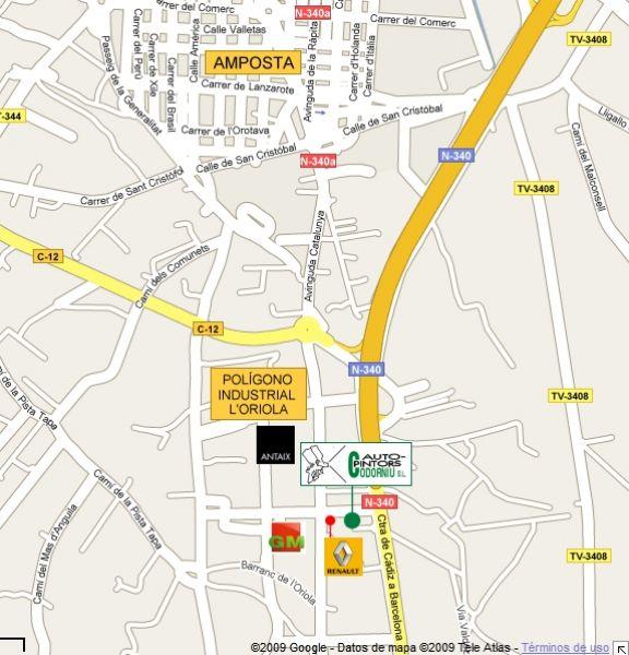 Parcela situada en la calle principal del polígono industrial La Oriola. Posibilidad de edificar hasta 1.680 m2 de nave. Ocupación 60%.  CONSULTAR PARA OTRAS PARCELAS.~Este Polígono Industrial se encuentra situado en la misma intersección de la C-12 y la Carretera Nacional N-340. Además, la proximidad de la salida número 41 de la Autopista AP-7 y la buena conexión de esta con el sector industrial mediante el puente de la N-340 sobre el Ebro, así como cerca de la estación de ferrocarril y a corta distancia del  puerto de mar, hacen de l`Oriola un lugar inmejorable para situar cualquier tipo de empresa.