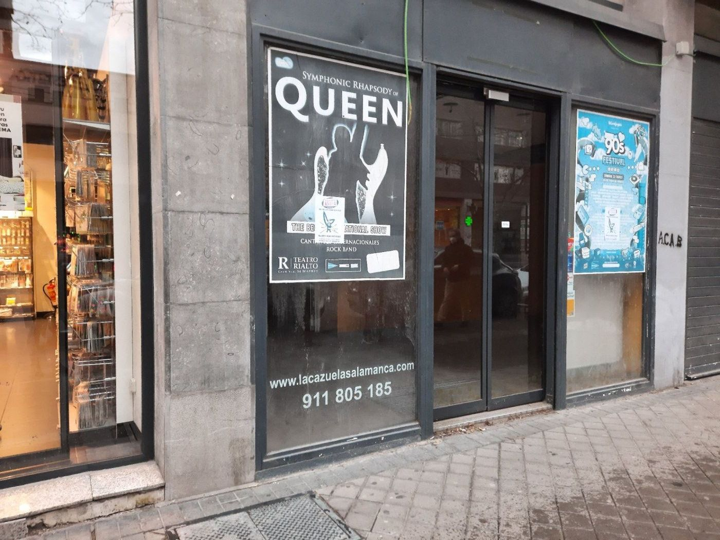 local-comercial en madrid · orense 4700€
