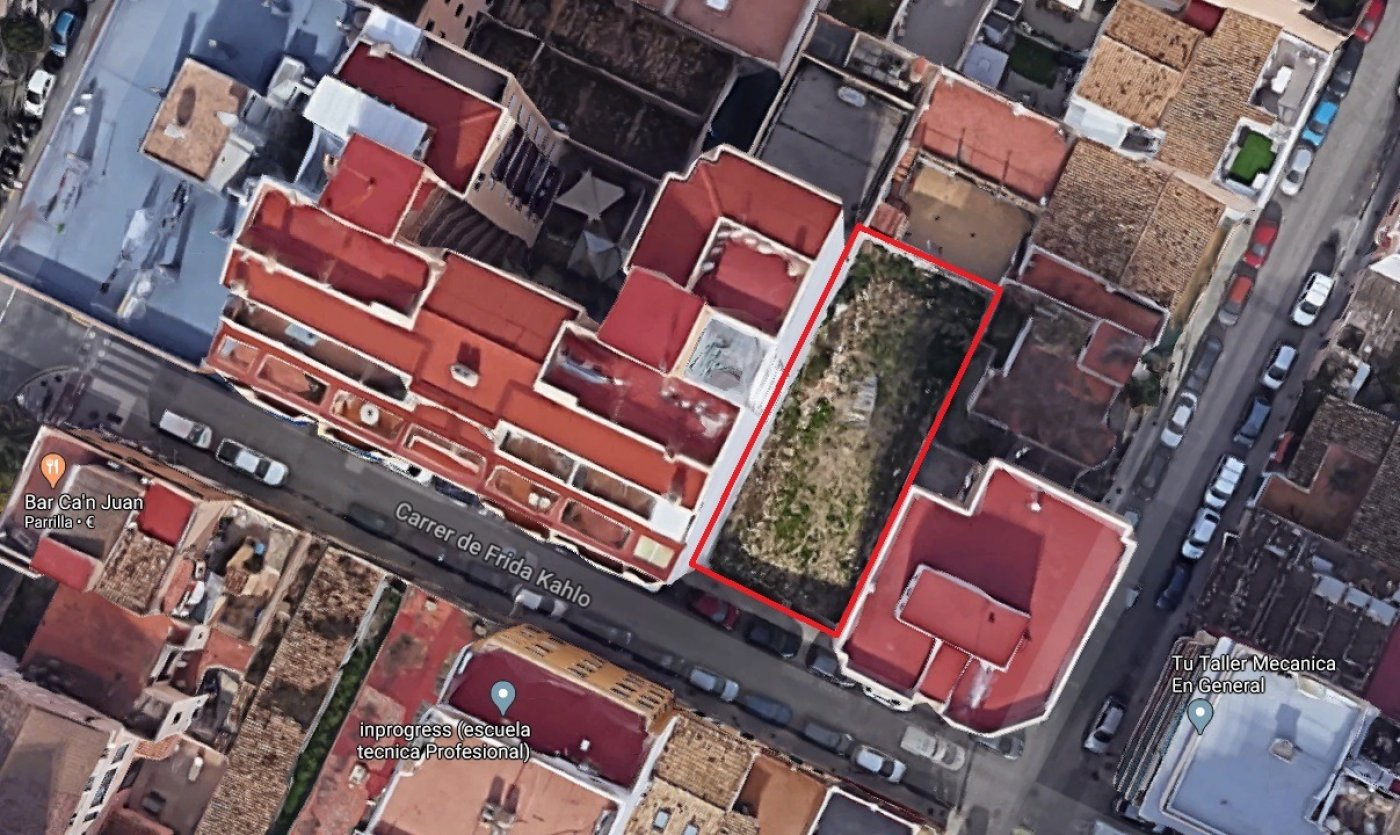 solar-plurifamiliar en palma-de-mallorca · plaza-de-toros 400000€