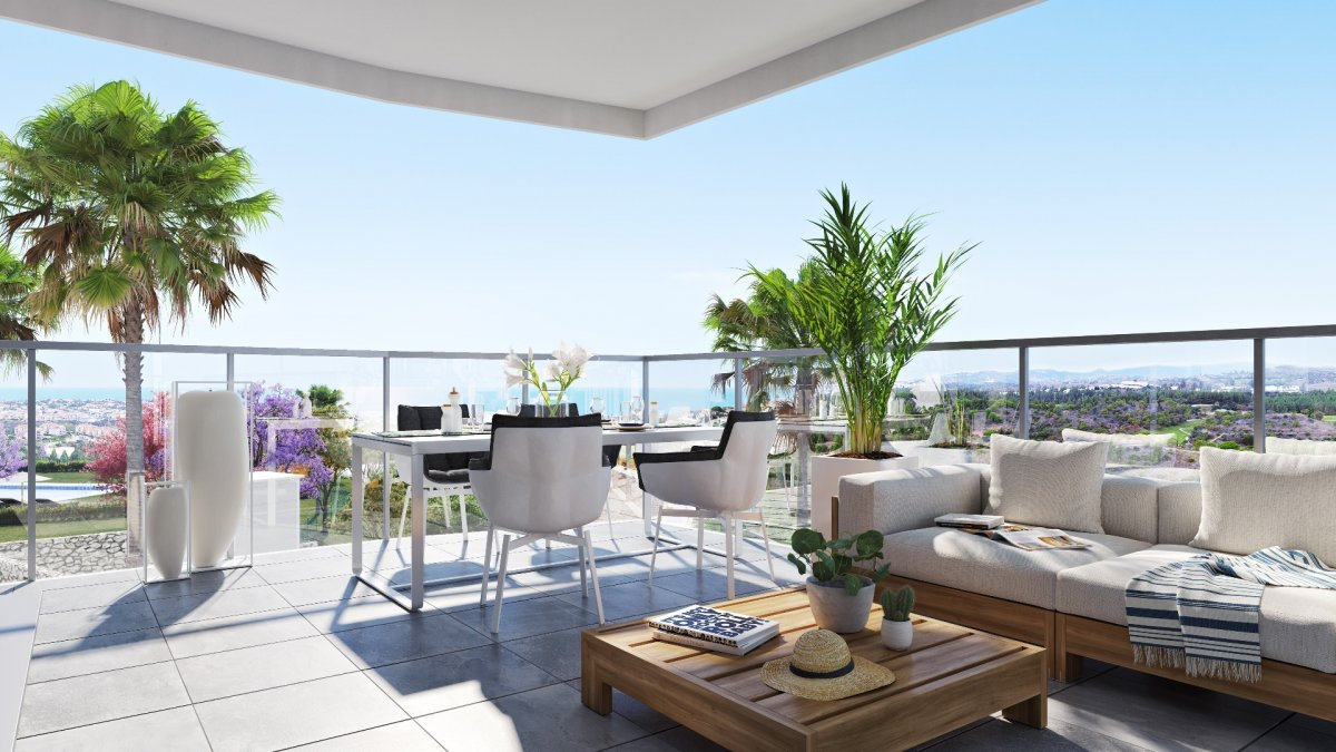 Penthouse for sale in Calaburra - chaparral, Mijas