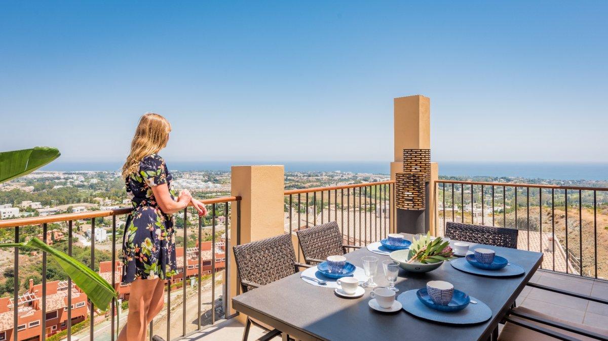 Penthouse for sale in La alqueria, Benahavis