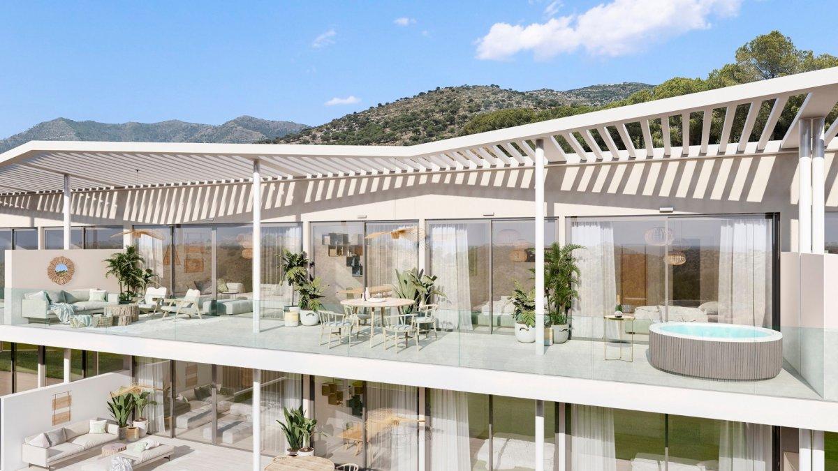 Penthouse for sale in El Higuerón, Mijas