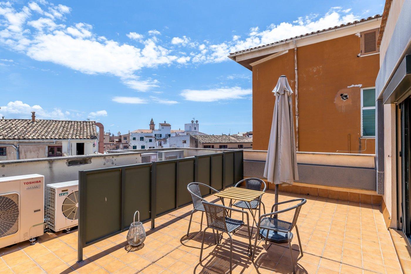 Ático con terraza en plaza mayor de palma - imagenInmueble24