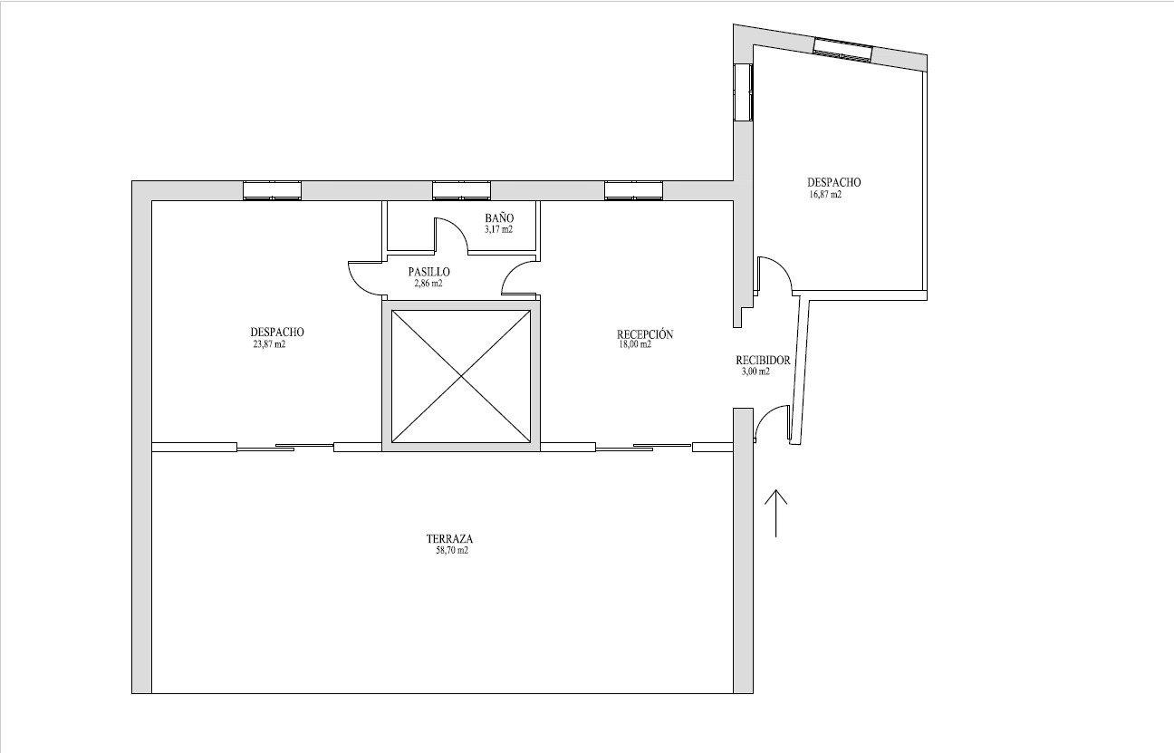 Ático con terraza en plaza mayor de palma - imagenInmueble26