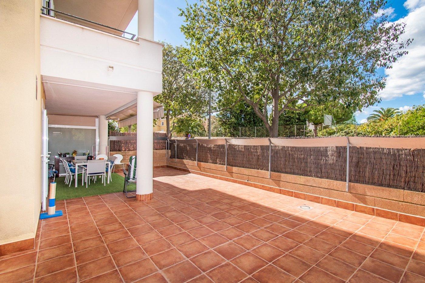 Planta baja de 2 habitaciones, terraza, parking, trastero y zonas comunitarias en son moix - imagenInmueble17