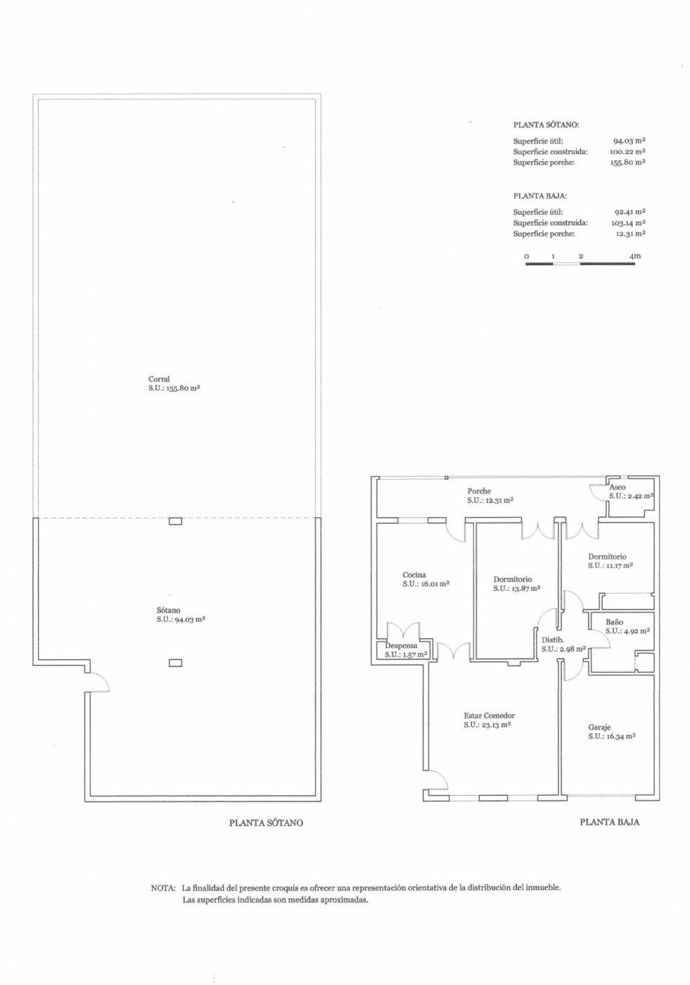 Planta baja y sala adicional de 95 m² con patio de 160 m² - imagenInmueble15