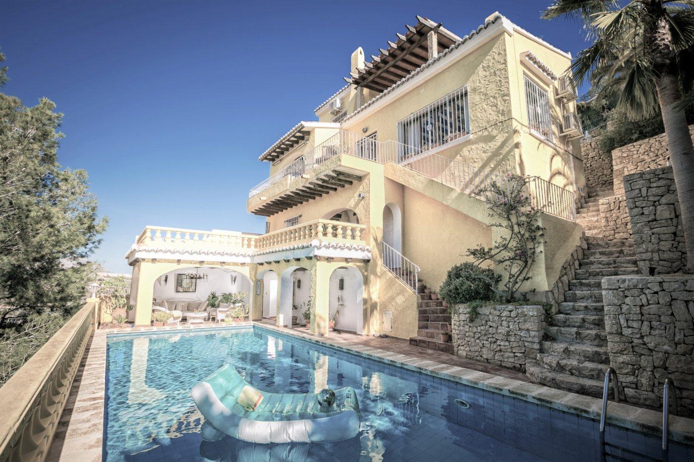 villa en moraira · alcasar 1800€
