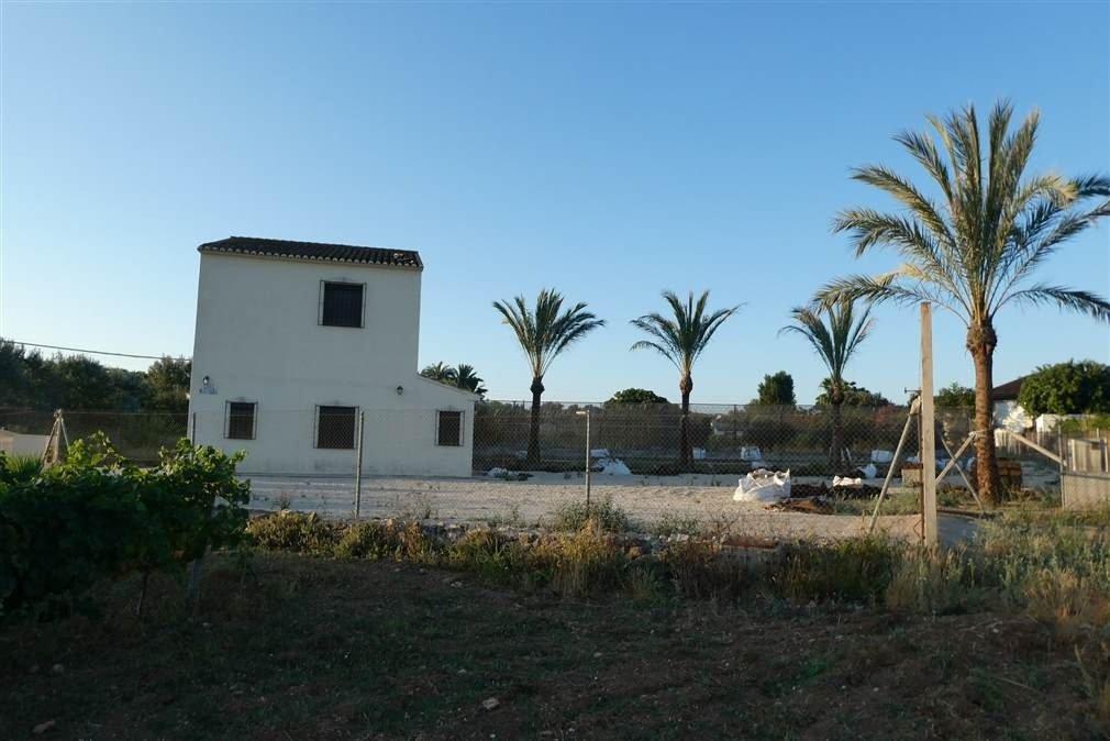 landhaus en teulada · partida-font-santa 567000€