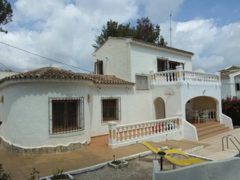 villa en moraira · cometa 1800€