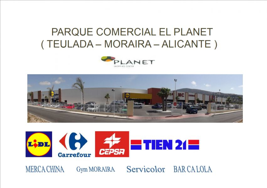 local-commerciel en moraira · moraira 6400€
