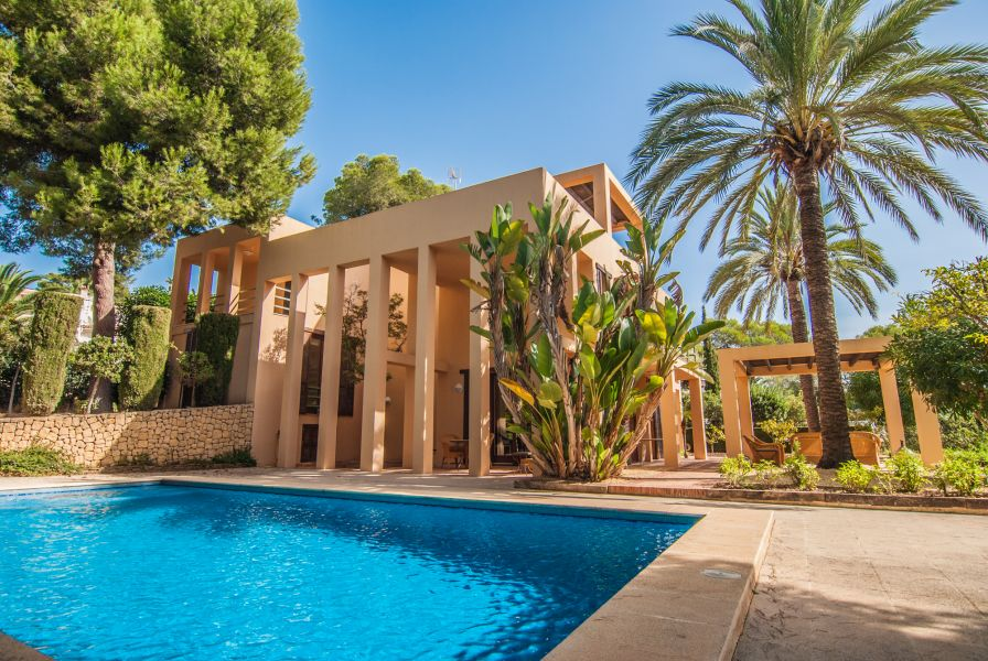 villa en moraira · pla-del-mar 1260000€