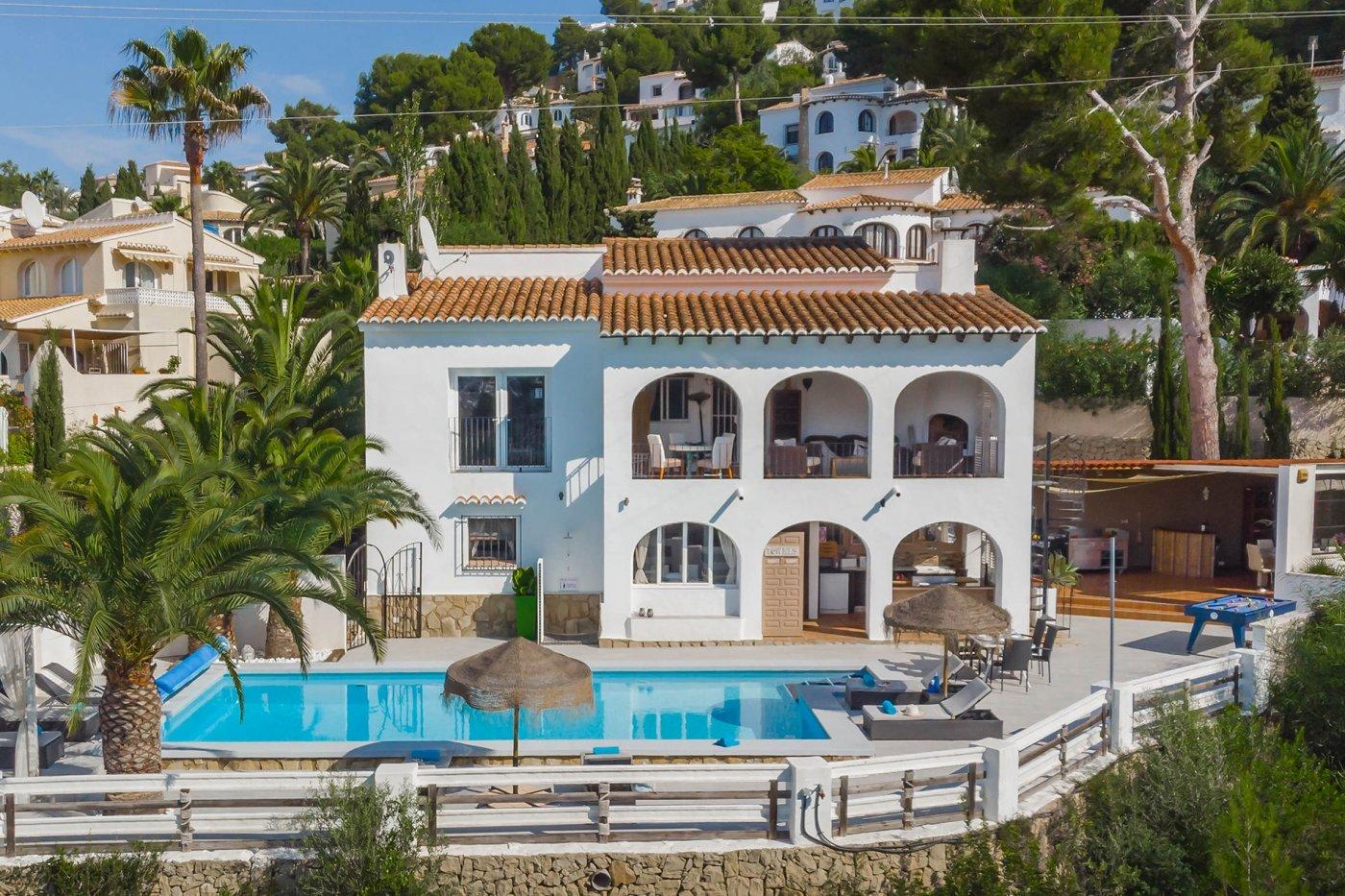 villa en moraira · alcasar 1500€
