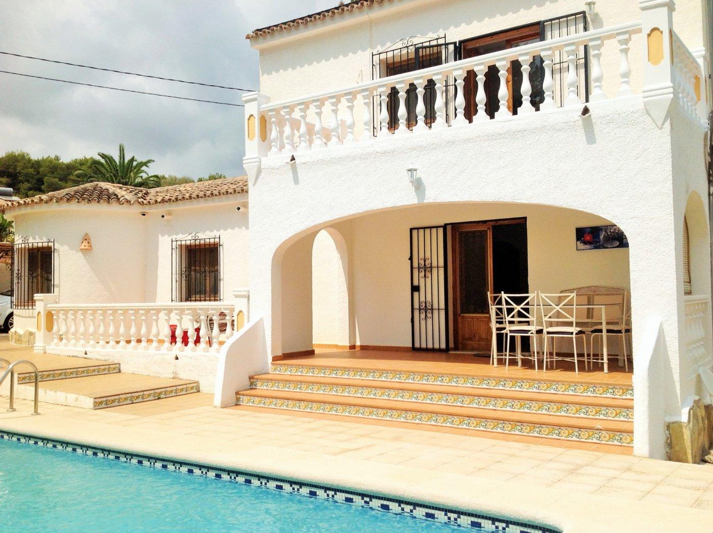 villa en moraira · playetes 1600€