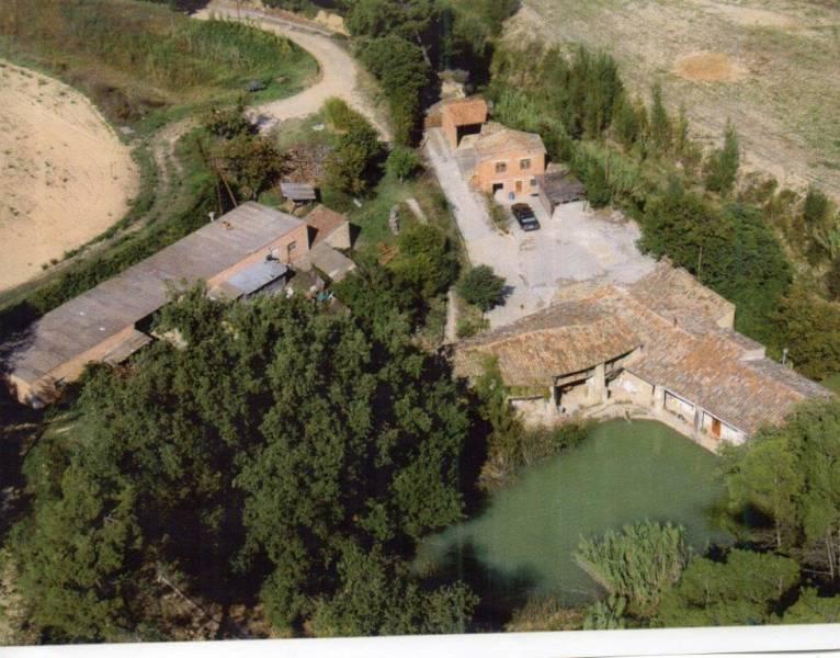espectacular masia en venta de 11ha. de terreno en castellbell i el vilar