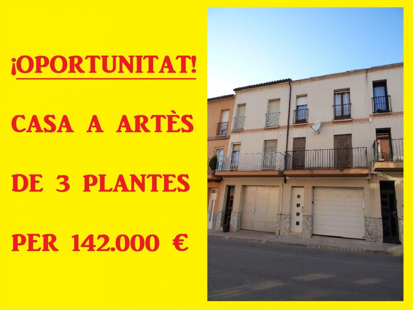 casa en artes · cases-noves 142000€