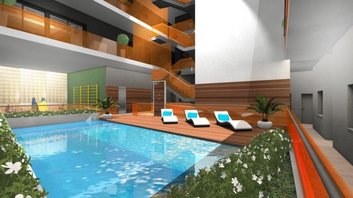 NEW BUILD APARTMENT WITH POOL IN THE CENTER OF TORREVIEJA (Centro)