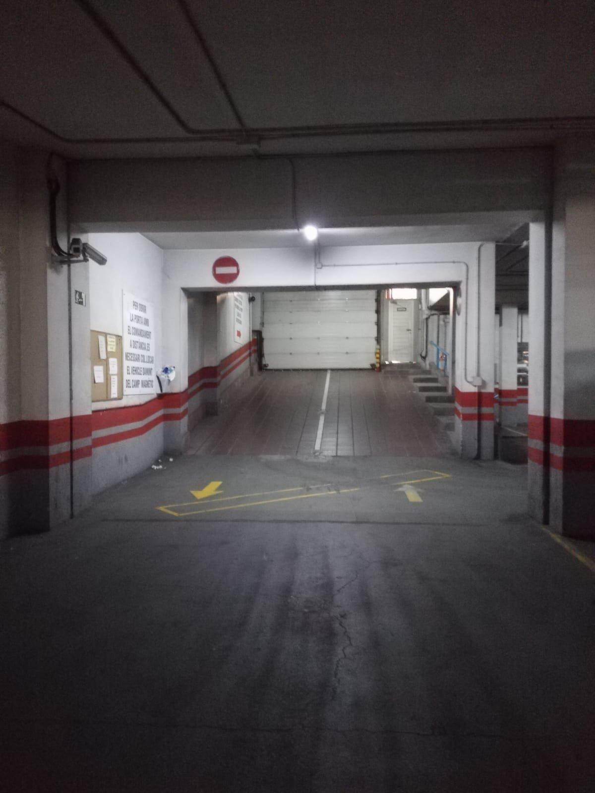 Plaça de pàrquing al Passeig
