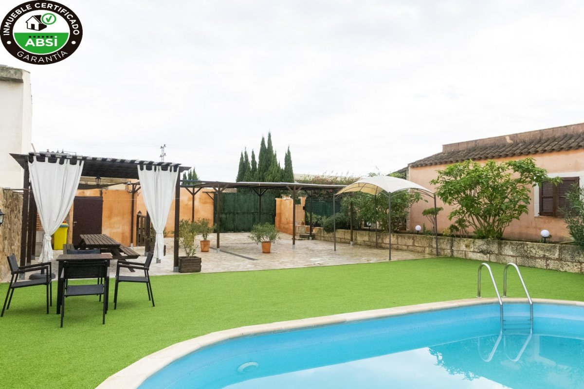 Chalet unifamiliar en manacor. espectacular vivienda independiente con piscina y mucha tra - imagenInmueble0