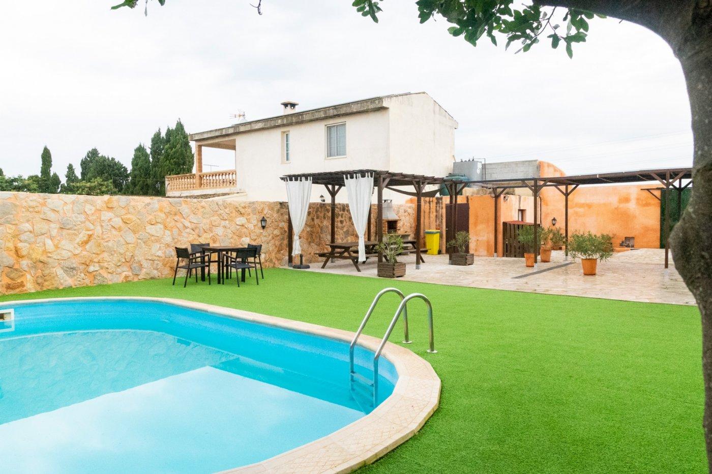 Chalet unifamiliar en manacor. espectacular vivienda independiente con piscina y mucha tra - imagenInmueble1