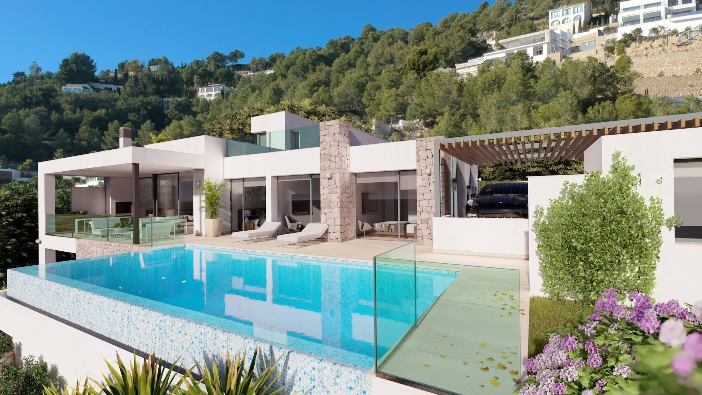 villa en benissa · raco-de-galena 1390000€