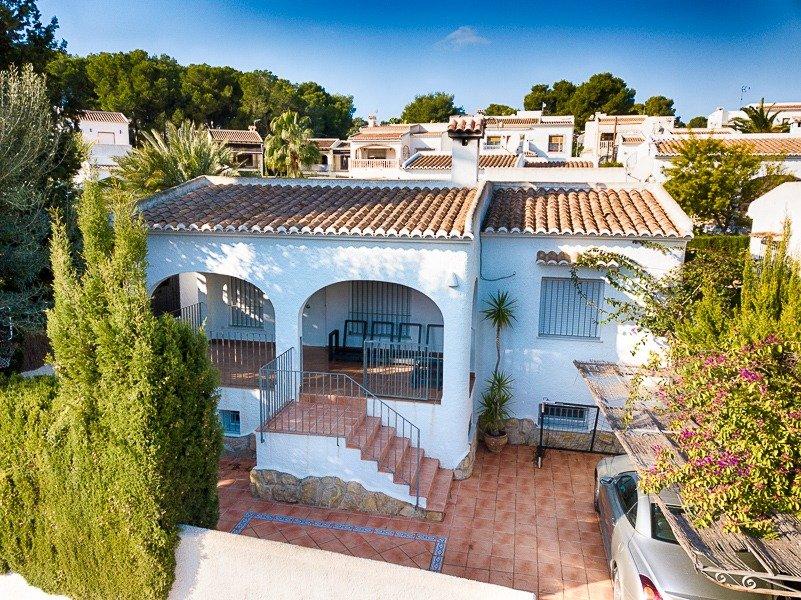 villa en moraira · playetes 499000€