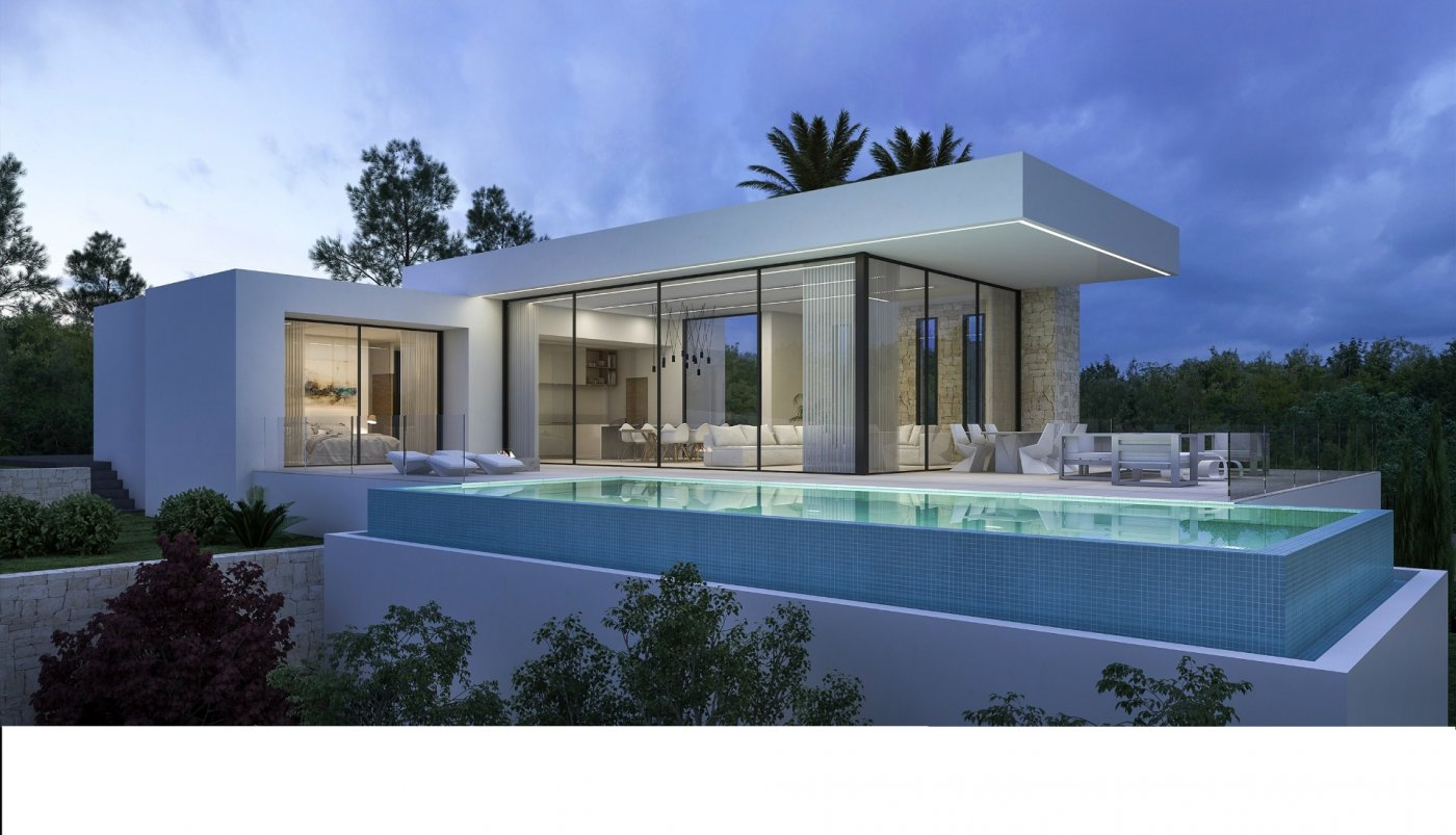 villa en moraira · benimeit 950000€