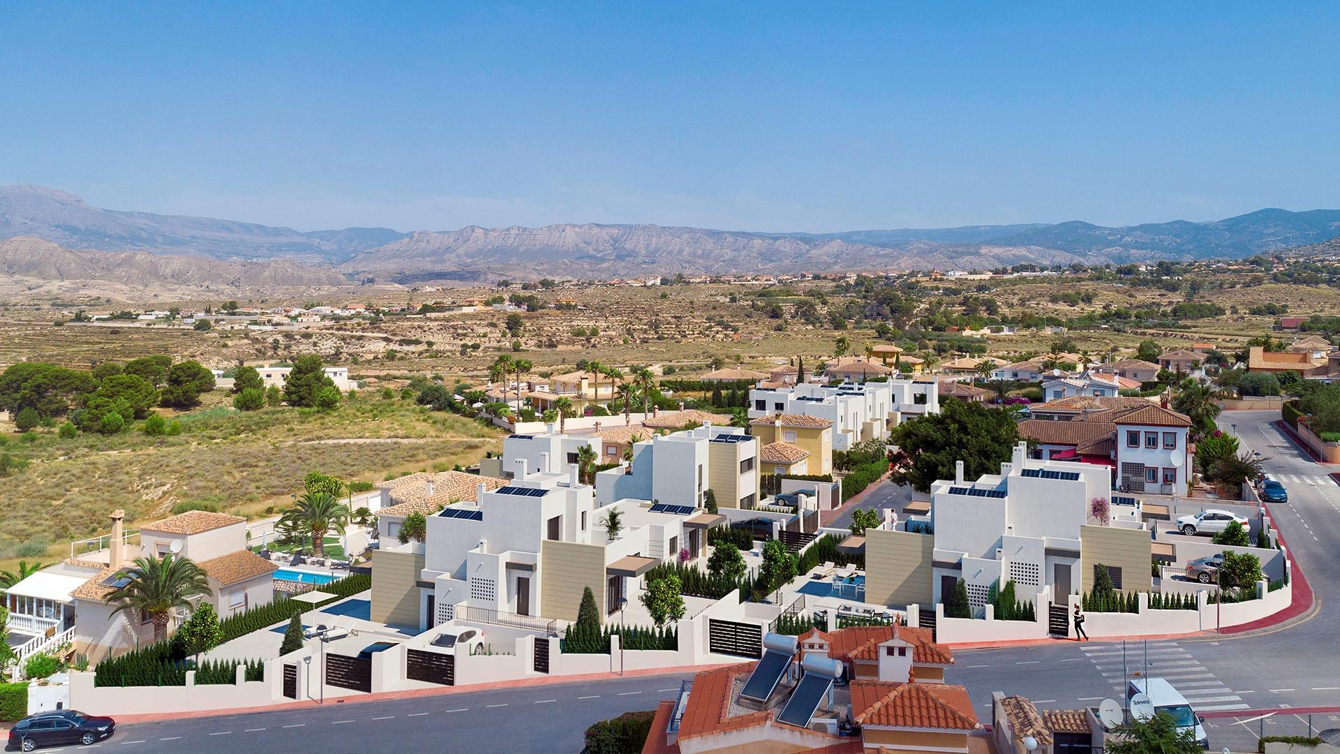 villa en busot · altos-de-alicante 265000€