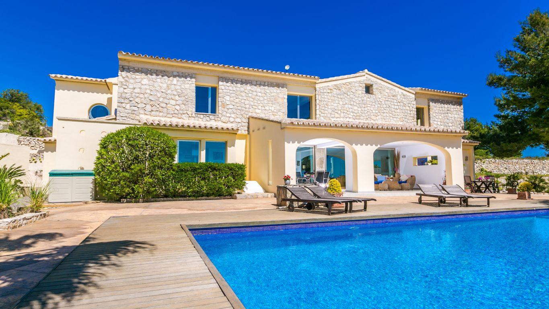 villa en teulada · moraira 1680000€