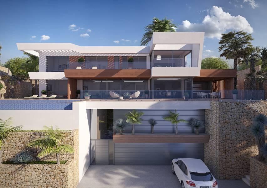 Villa - In Constructie - Benimeit - Moraira