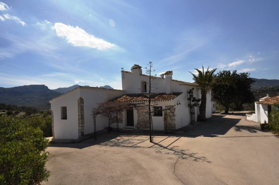 Country House in Benissa Campo