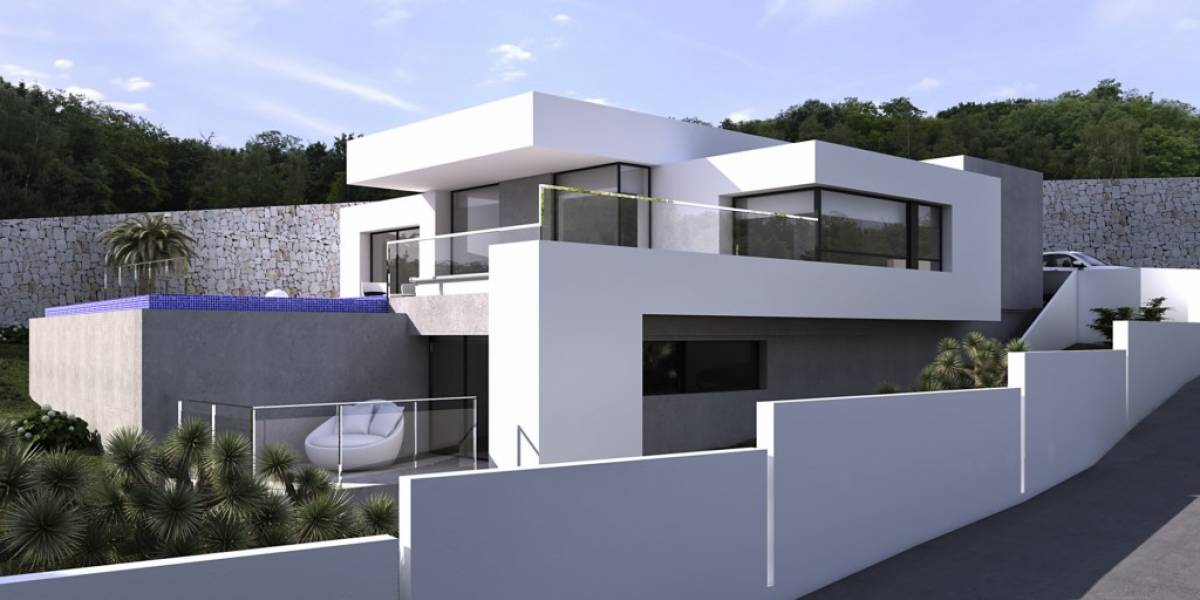 Villa - En Proyecto - Sol Park - Moraira