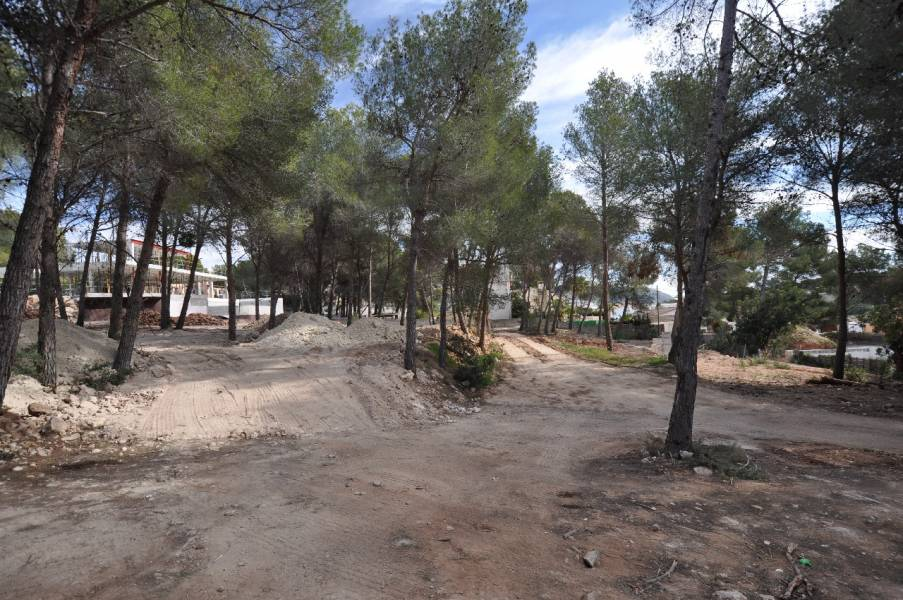 Plot in Moraira El bosque