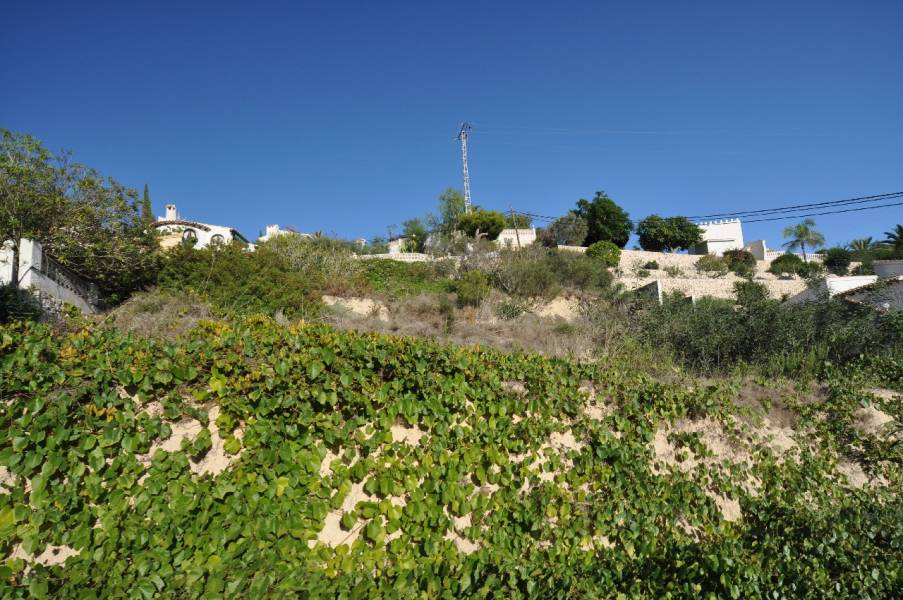 Plot in Benissa San Jaime