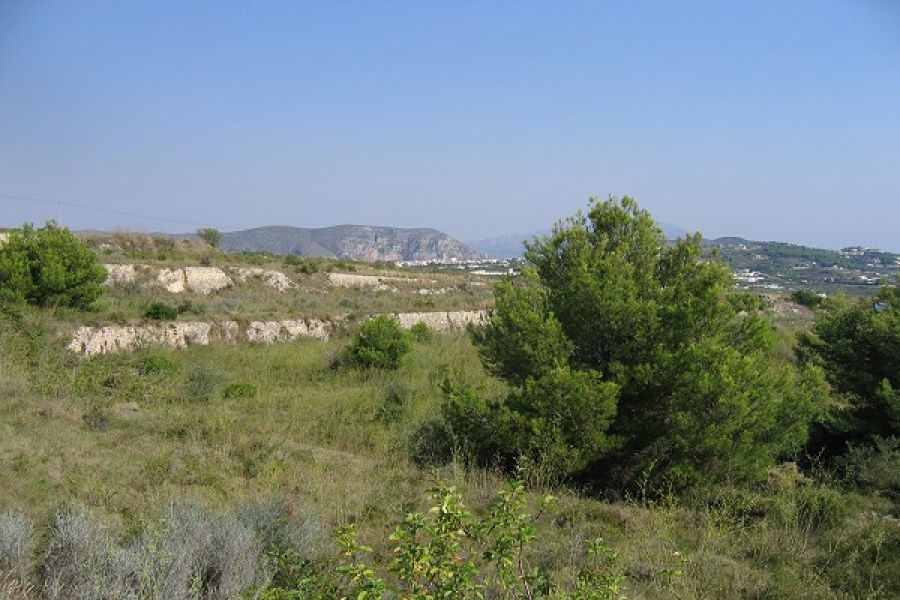 Plot in Moraira Benimeit