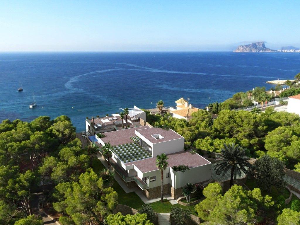 villa en moraira · el-portet 4400000€
