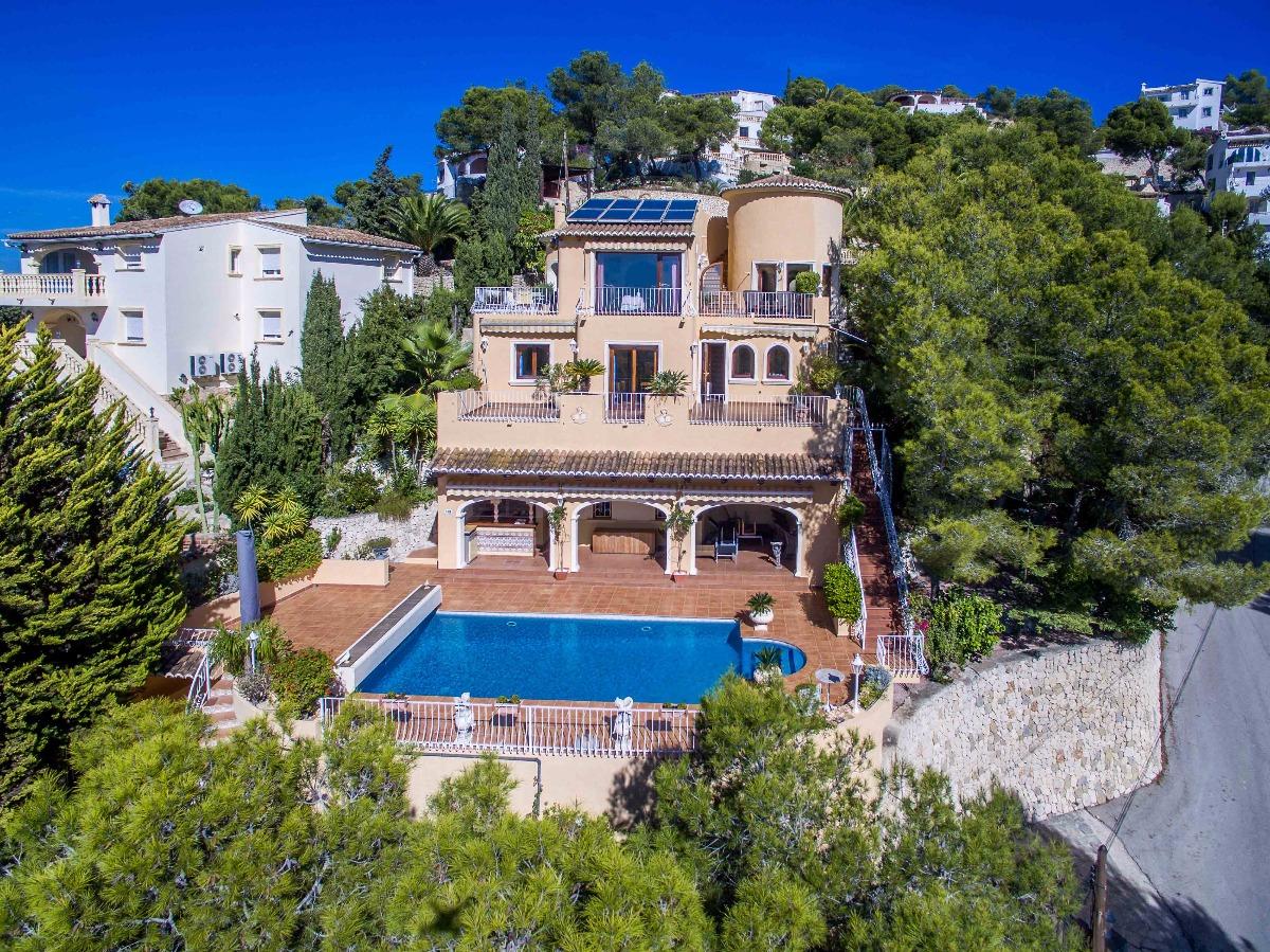 villa en moraira · paichi 640000€