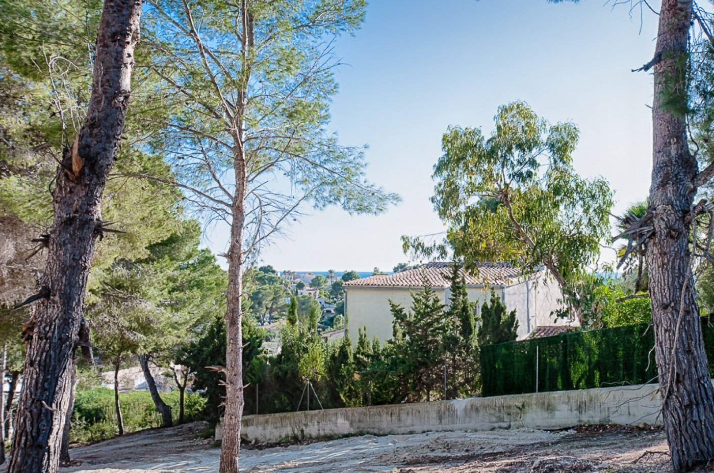 Plot in Moraira Costera del mar