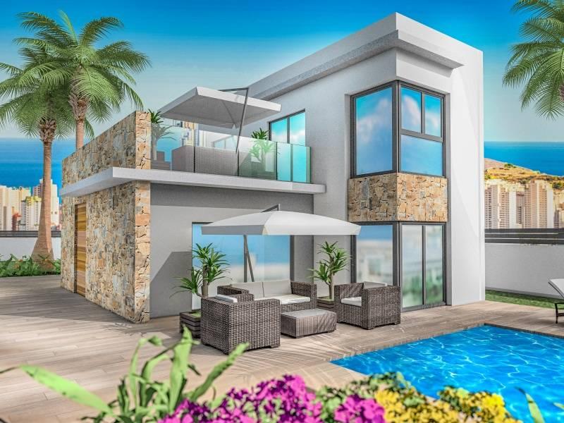 Villa - Under Construction - Balcón De Finestrat - Finestrat