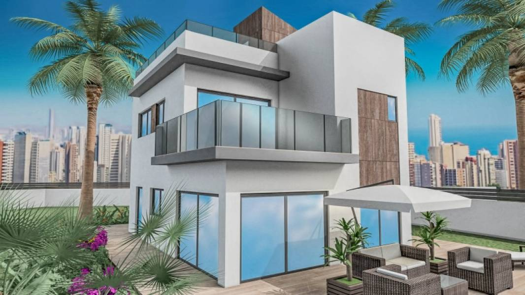 Villa - Under Construction - Balcón De Finestrat - Finestrat