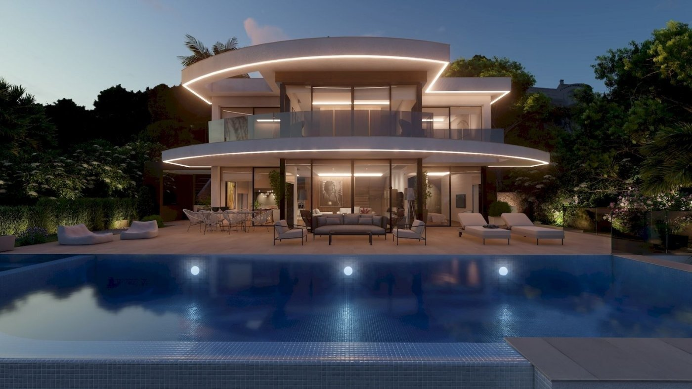 Villa - En Proyecto - Benimeit - Moraira