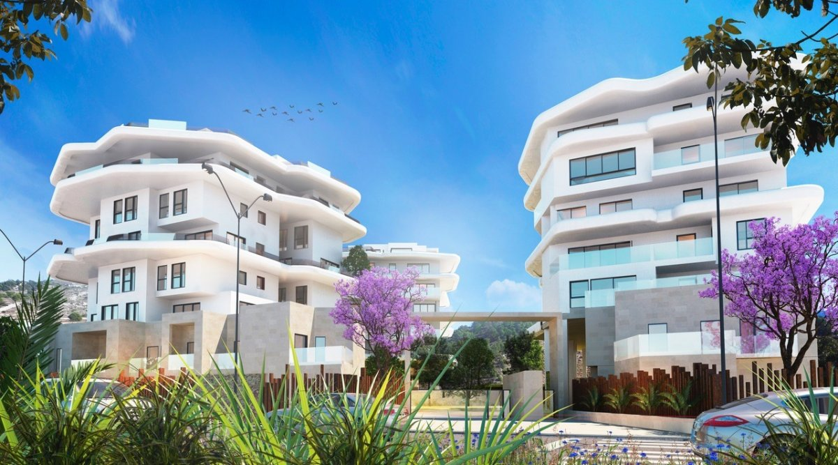 Apartment - Under Construction - 1a Linea - Villajoyosa