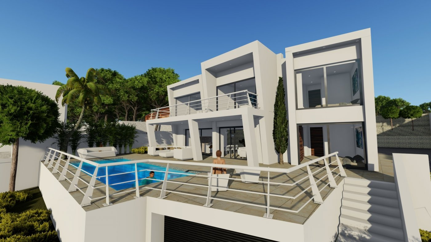 villa en benissa · benissa-costa 969000€