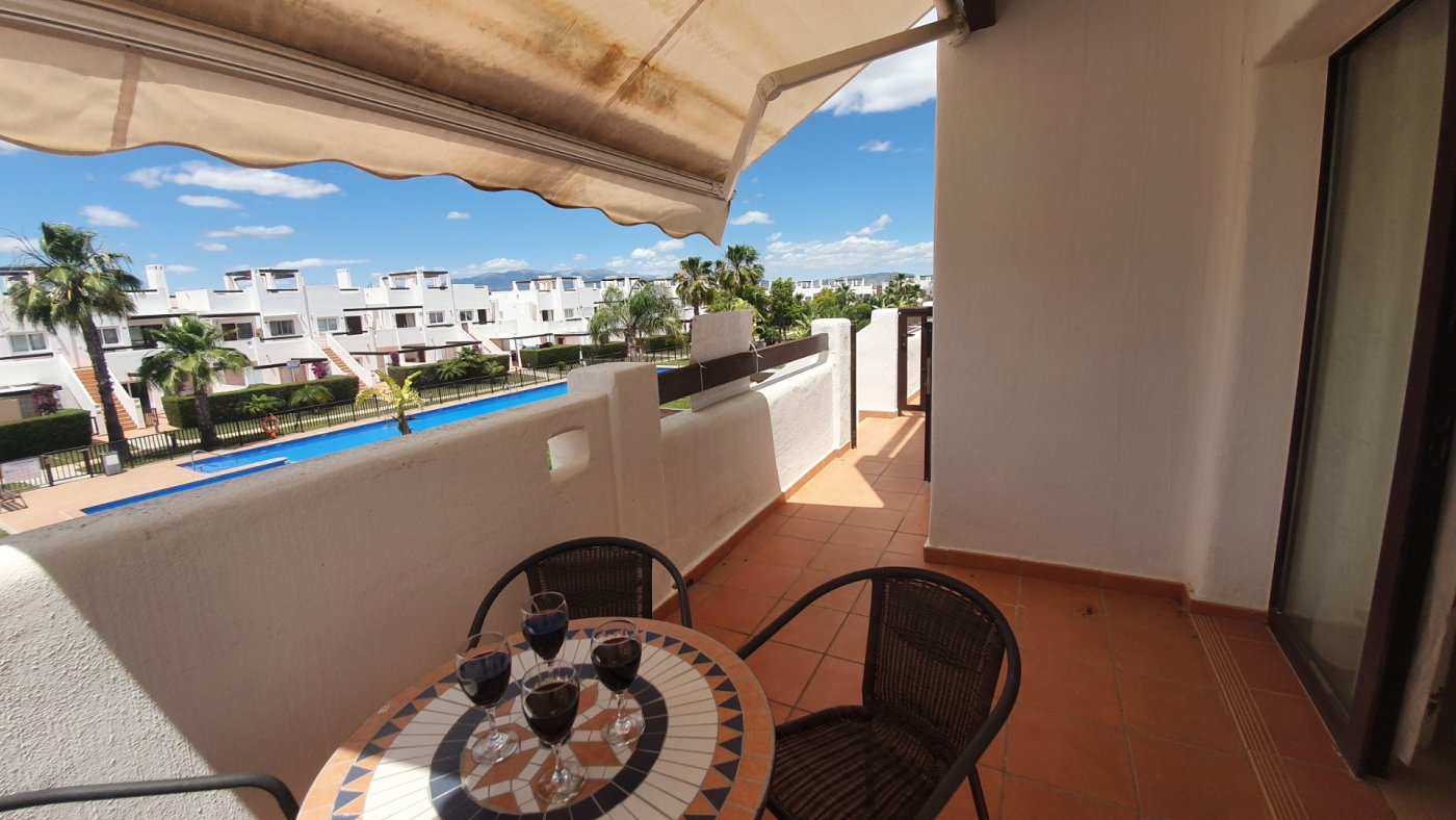 Apartment ref 3314 für sale in Condado De Alhama Spanien - Quality Homes Costa Cálida