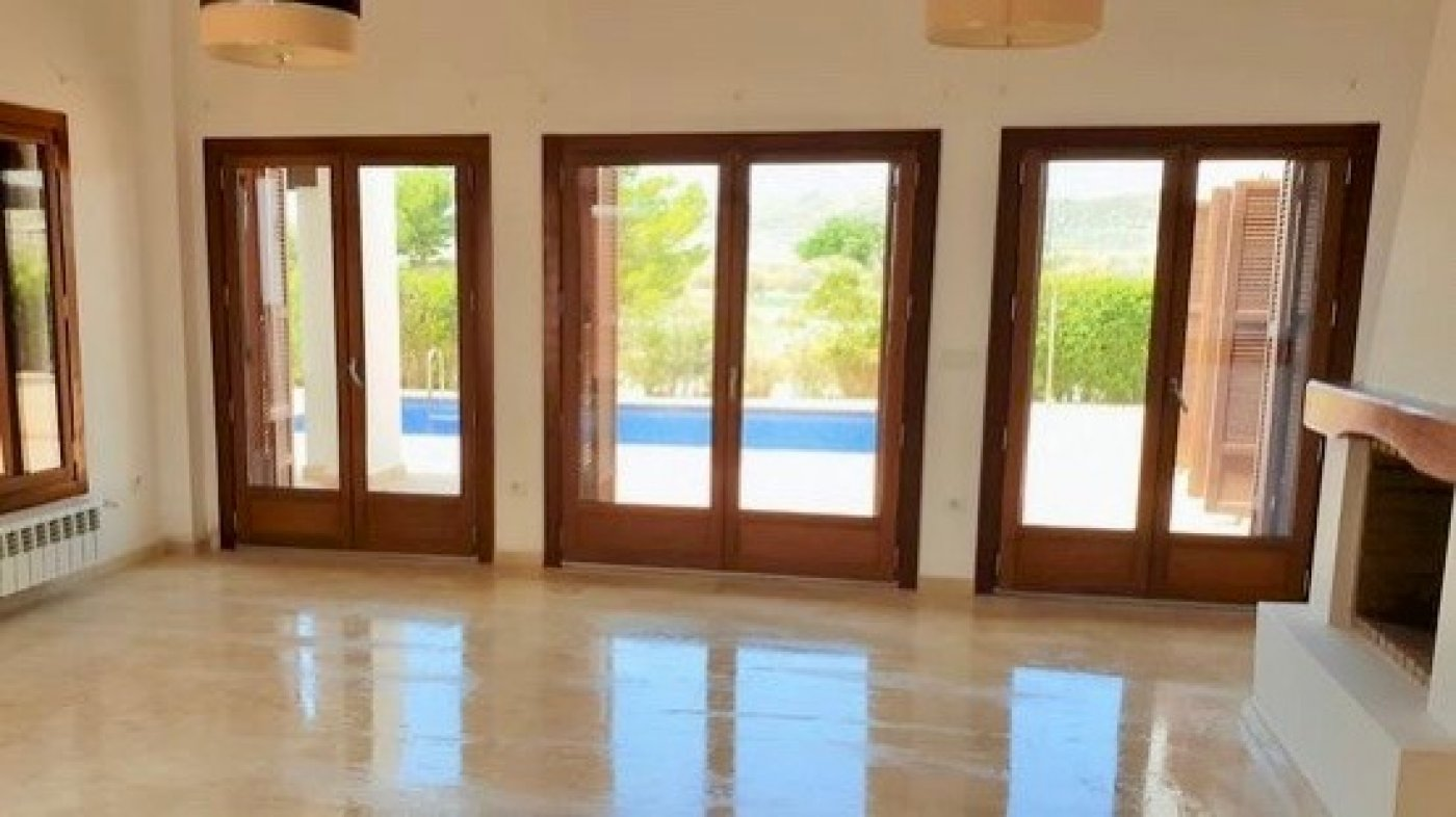 Gallery Image 1 of Bargain first line west facing large 3 Bed Villa with Private Pool on El Valle Golf Resort