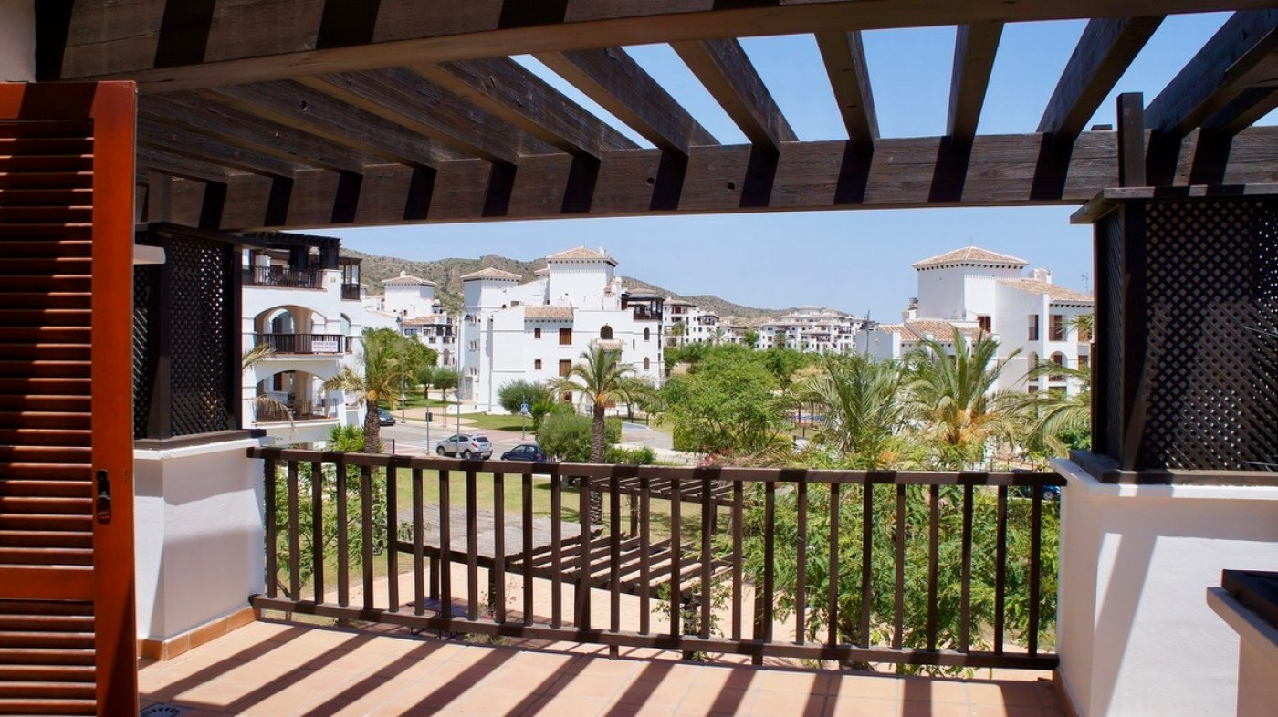 Gallery Image 1 of Big terrace, bargain priced sunny 2nd floor, 2 bed and 2 bath apartment in  El Valle Golf Resort