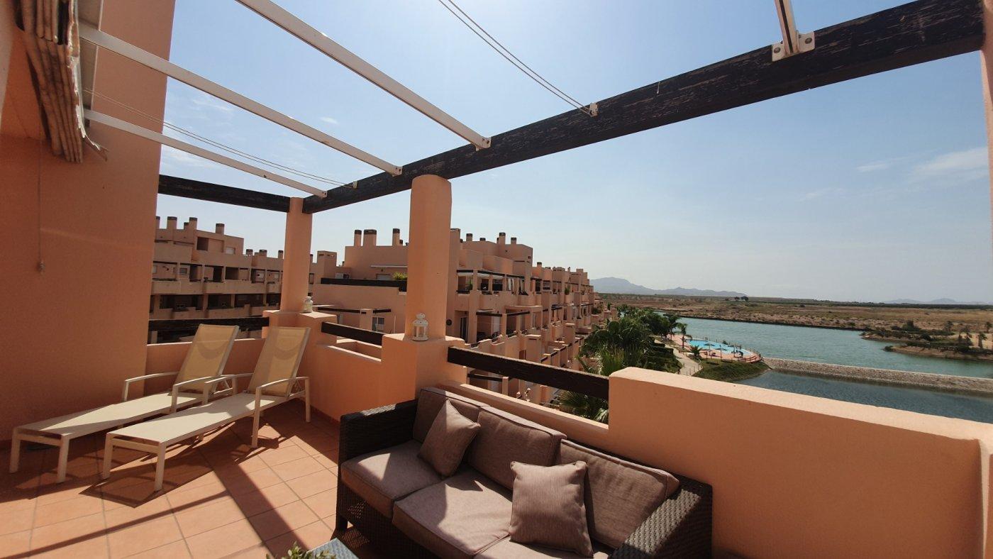 Penthouse ref 3352 for sale in Condado De Alhama Spain - Quality Homes Costa Cálida